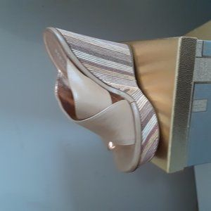 Tan BCBG Wedge Heel